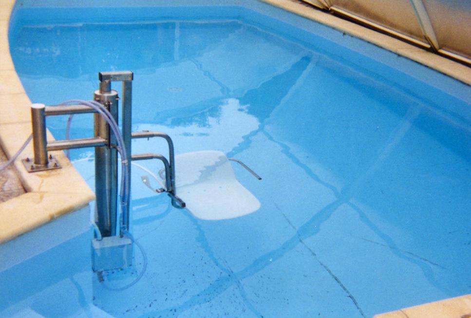 aquasi ge pour bassins couverts d un abri bas aquasiege. Black Bedroom Furniture Sets. Home Design Ideas